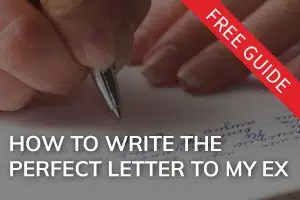 Write The Perfect Letter To My Ex