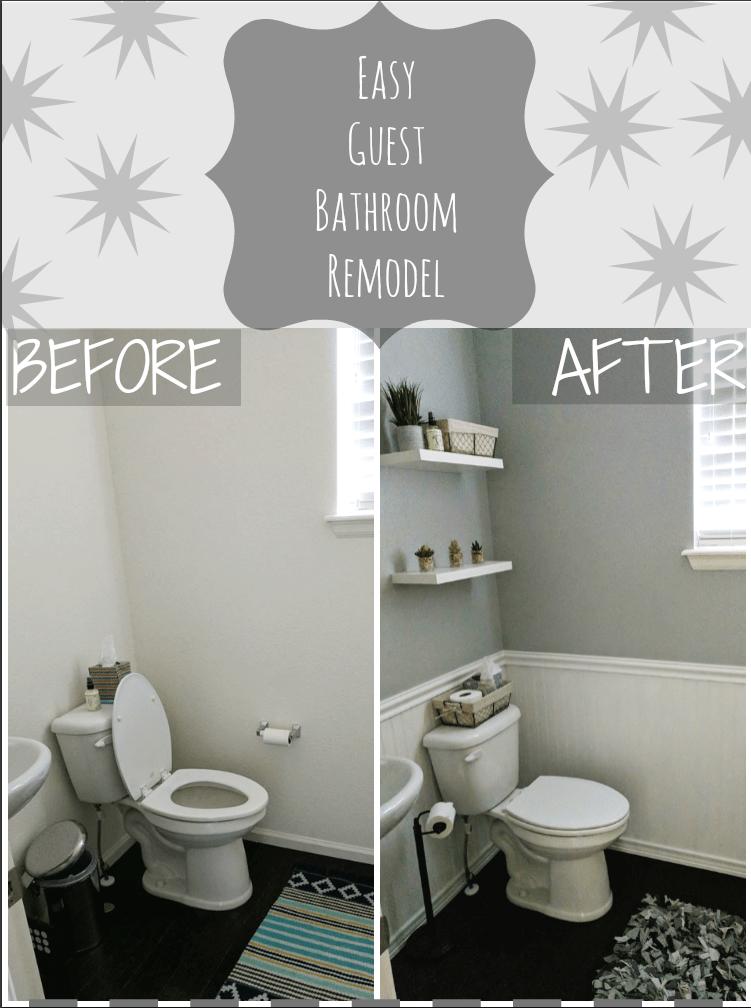Simple DIY Bathroom Remodel  With Our Best  Denver
