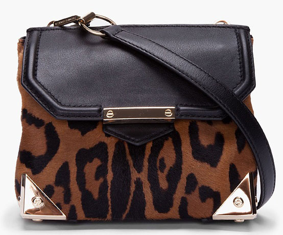 leopard print design bag