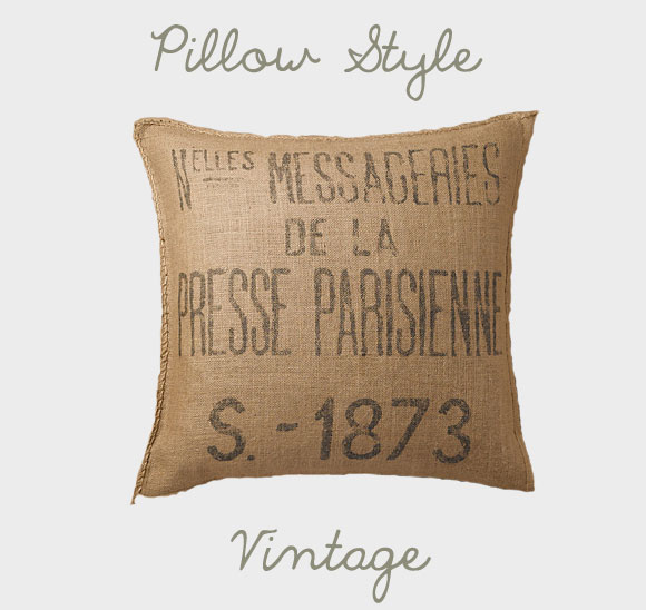 one pillow for everyone - Vintage