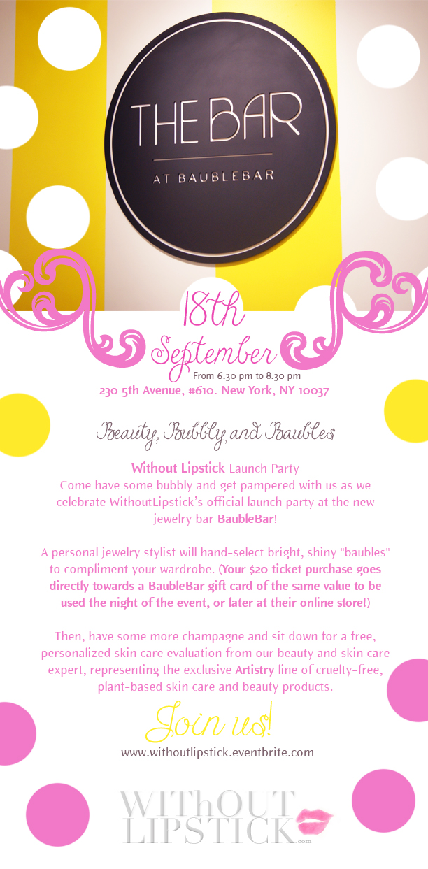 Beauty, Bubbly & Bauble Event