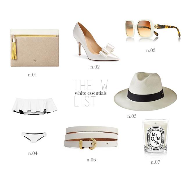 white essentials
