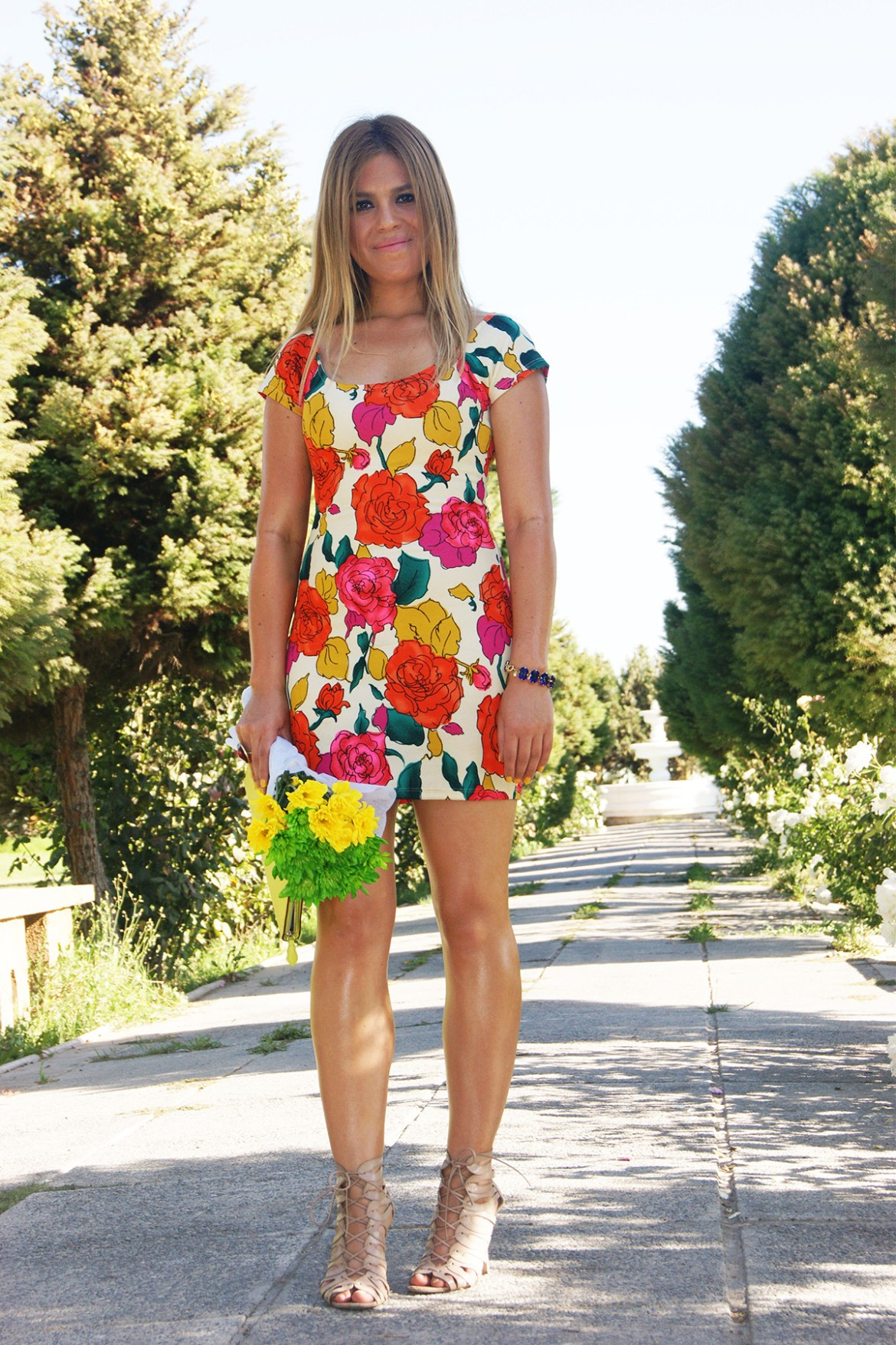 Lookbook Floral Dress