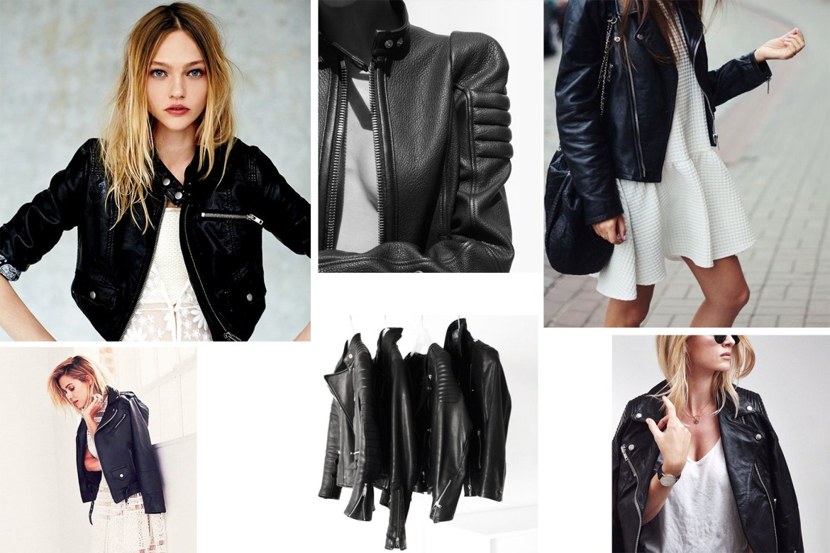 The perfect Black Leather Jacket