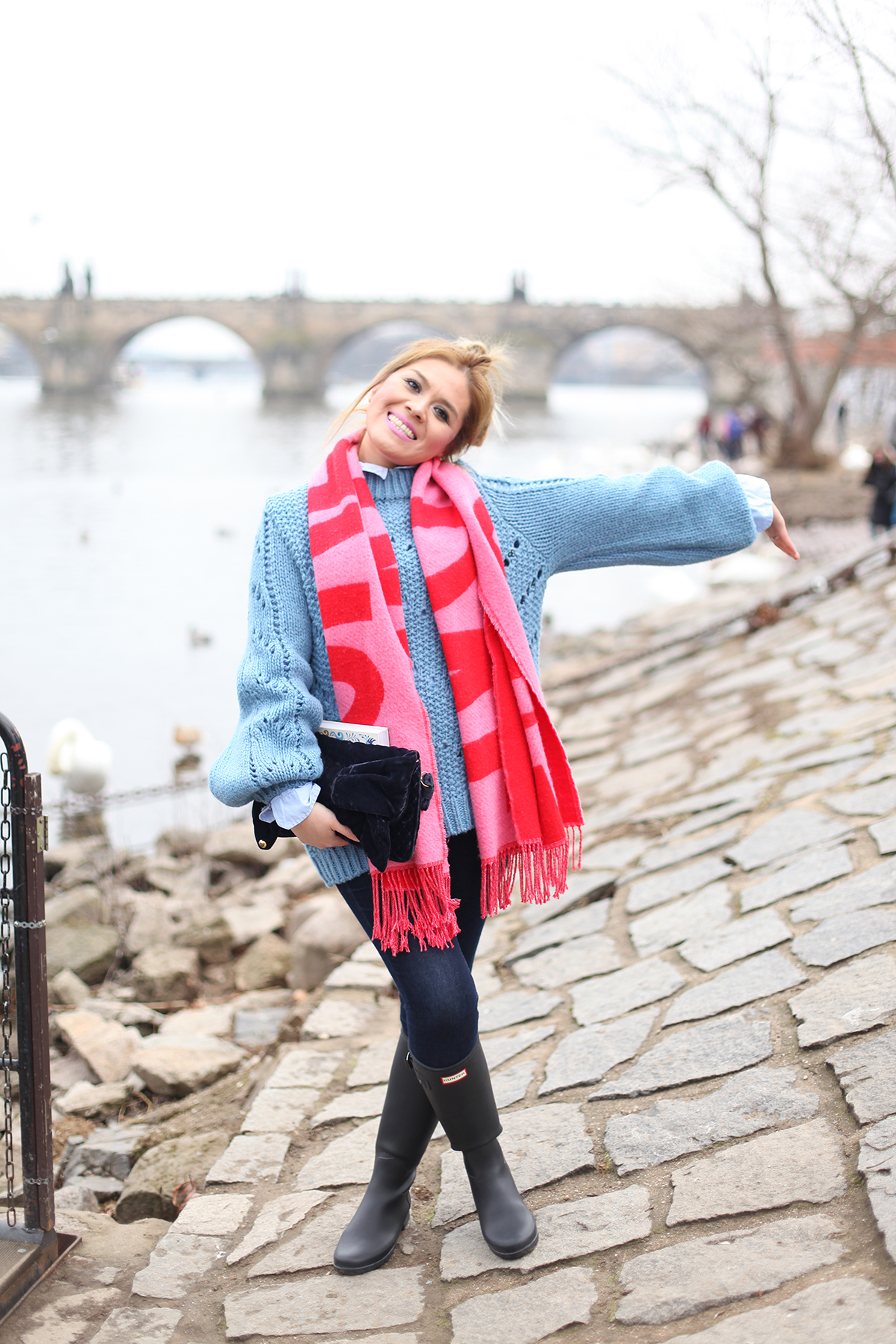 Fashion blogger in Prague