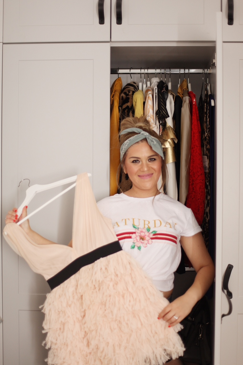 fashion blogger closet
