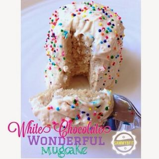 White Chocolate Wonderful Mugcake