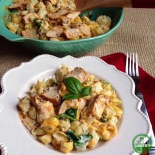 Creamy Cajun Chicken Macaroni and Cheese