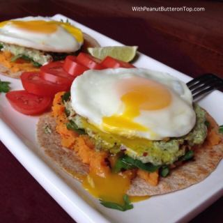 Sweet Potato Breakfast Tostada
