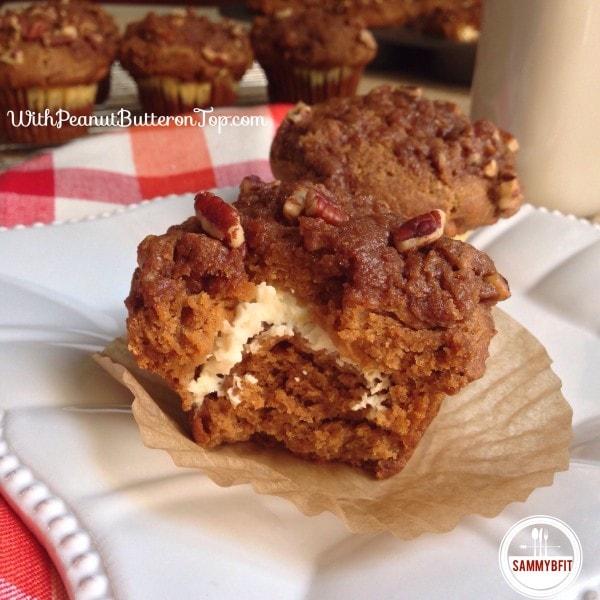 Pumpkin Cheesecake Crunch Cakes