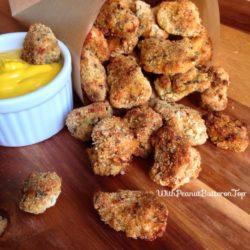 Garlic Parmesan Chicken Bites