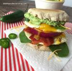 The Ultimate Guacamole Breakfast Sandwich | www.withpeanutbutterontop.com