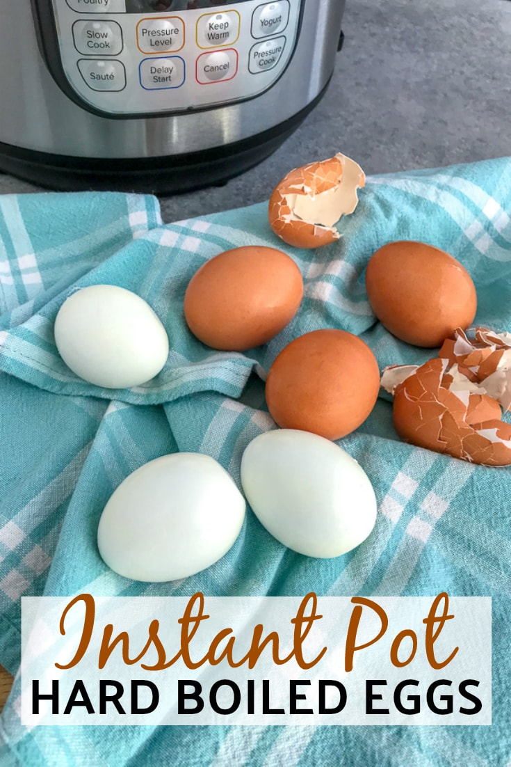 Instant Pot Hard Boiled Eggs - Learn the BEST, easiest way to quickly cook and peel hard boiled eggs right in your Instant Pot! A super simple, proven method you are going to love! #instantpot #hardboiledeggs #easy | https://withpeanutbutterontop.com