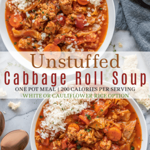 Pinterest Long Pin of Cabbage Roll Soup