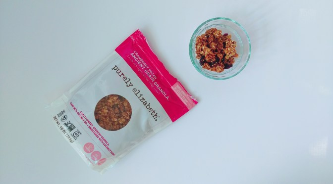 Eating Pure with Purely Elizabeth Granola!