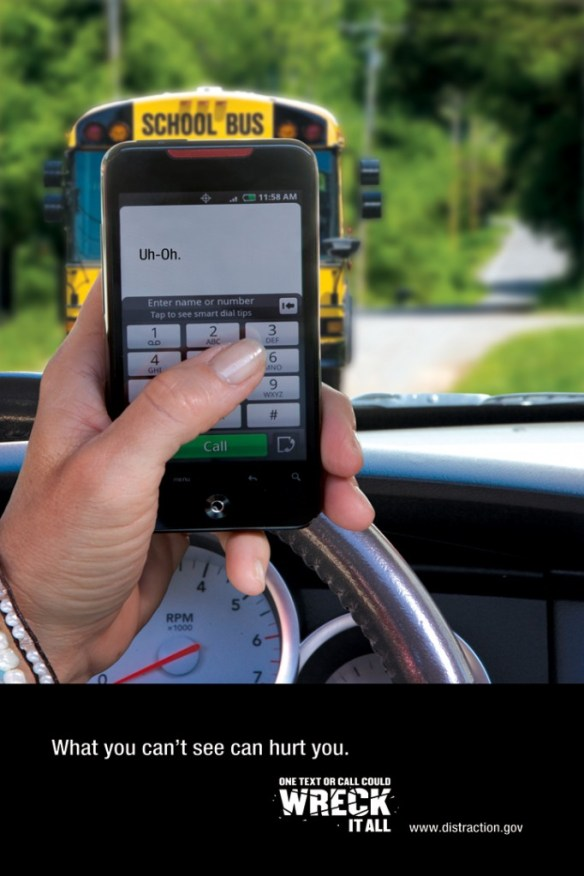 Texting and Driving - It Can Wait distraction.gov
