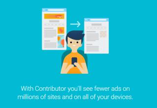 خدمة Google contributor (كونتريبوتر)