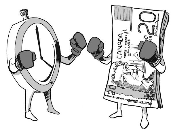 عملة الوقت VS عملة المال