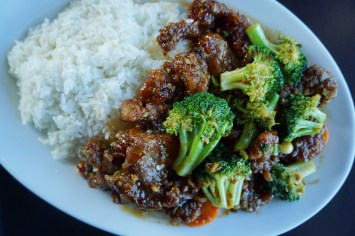 Spicy General Fu with Beef