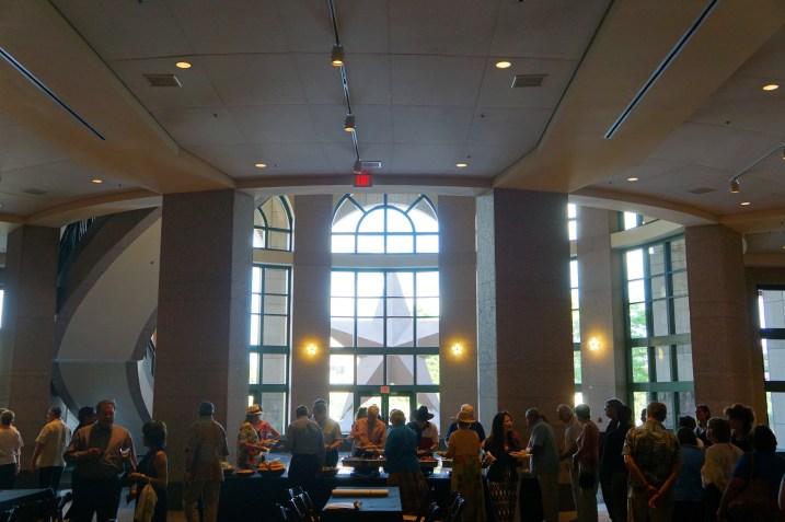 Inside the Main Veranda Bob Bullock Museum