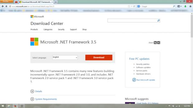 02-net framework needed