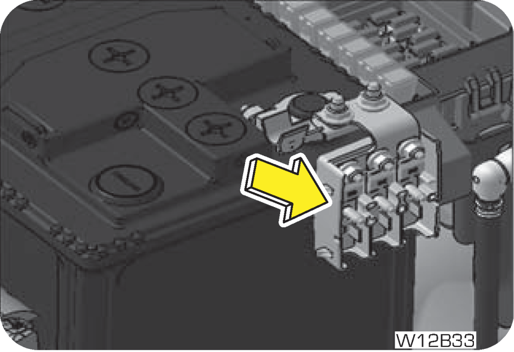 medium resolution of battery mounted fuse box consist of following fuses