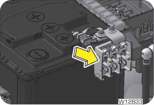small resolution of battery mounted fuse box consist of following fuses
