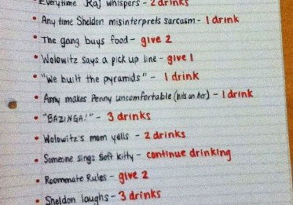 drinking games free funny