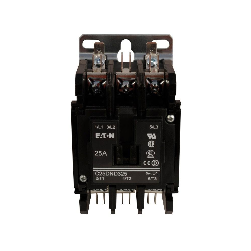 medium resolution of c25dnd330c eaton definite purpose contactor 1