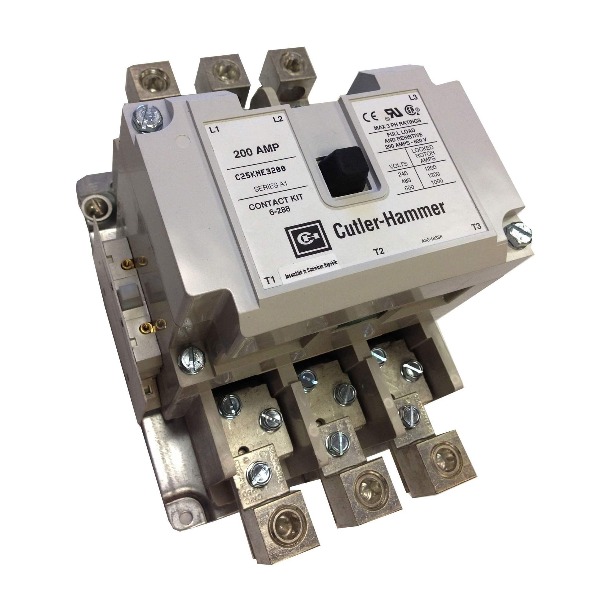hight resolution of c25kne3200b eaton definite purpose contactor 1