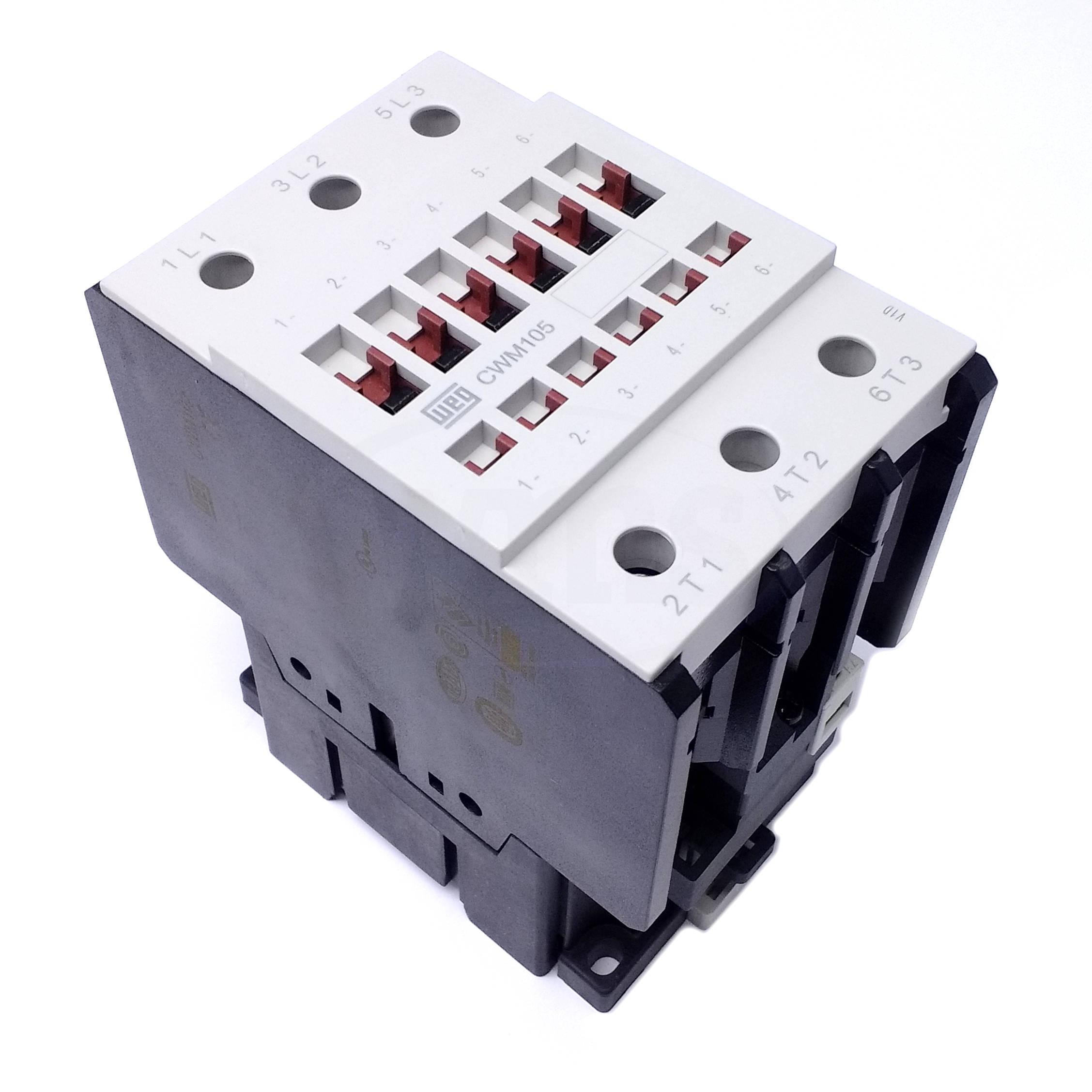 medium resolution of cwm105 00 30c34 weg 3 pole iec standard contactor pvs3 open close stop switch wiring understanding a size 00 contactor wiring