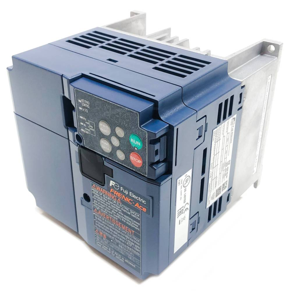 medium resolution of frn0020e2s 2gb 7 5 hp fuji frenic ace variable frequency drive vfd 1