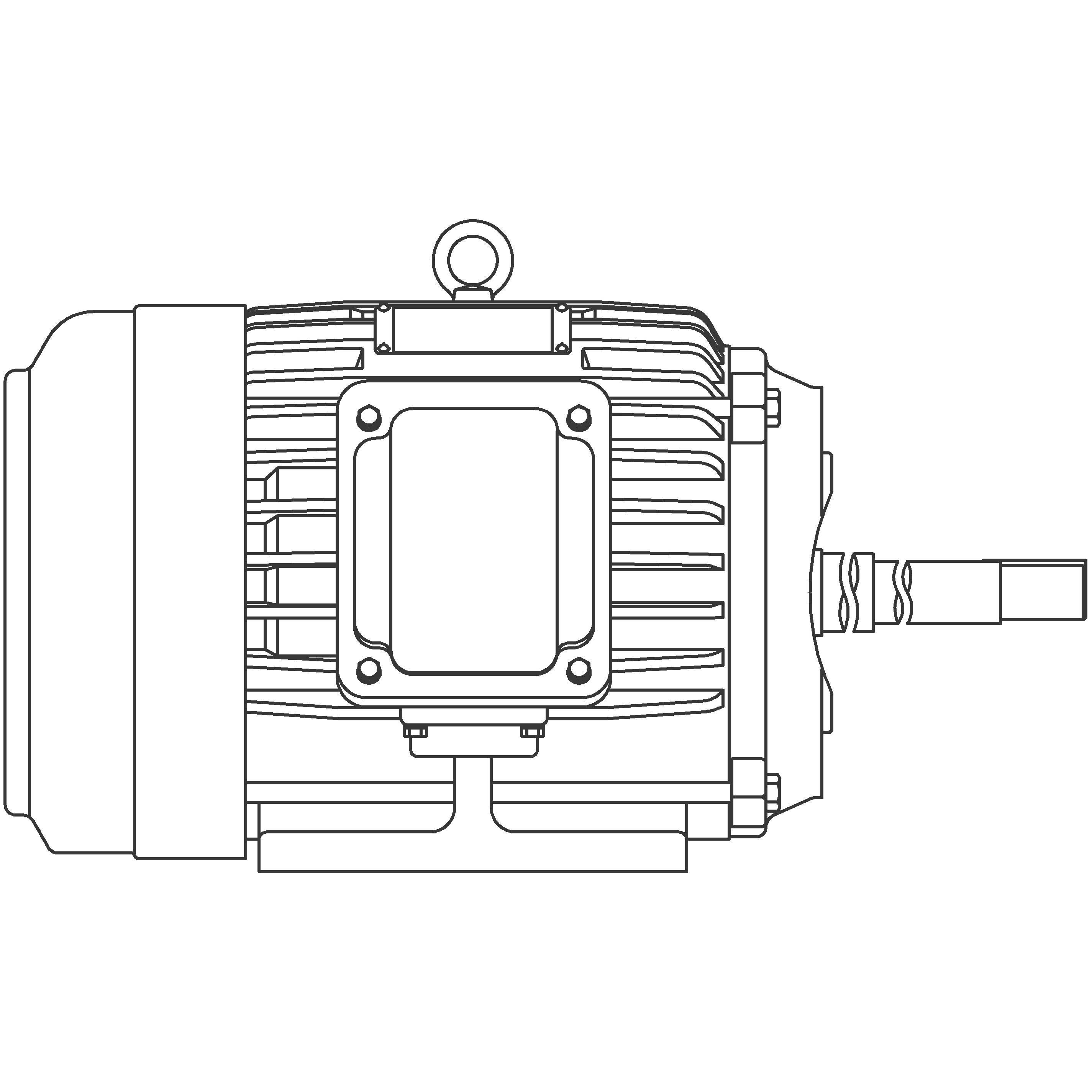 JPP0052 Teco-Westinghouse 5HP Close-Coupled Pump Electric