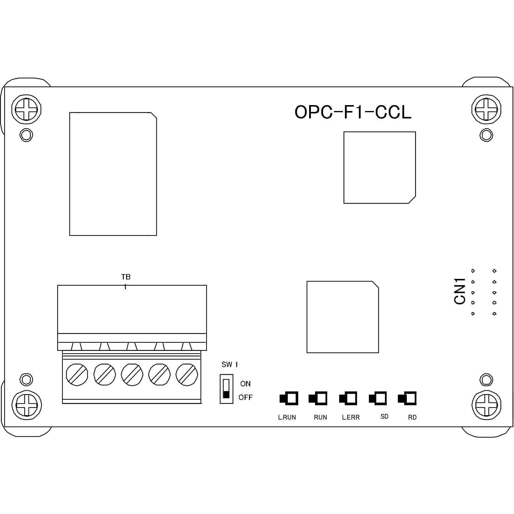 OPC-F1-CCL CC-link Communication Card