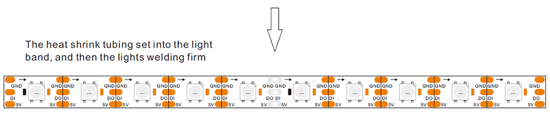 5050 led strip wiring diagram kenworth pigtail 4 colors in 1 digital sk6812 rgbw witoptech