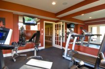 Home Gym Color Wall Paint Ideas