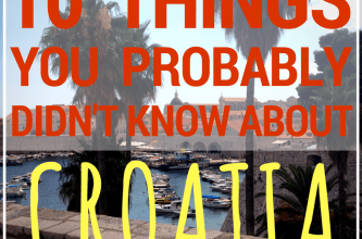 10 Things About Croatia