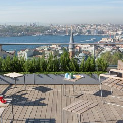 Living Rooms For Small Spaces Room Wood Furniture Images Enjoy The Permaculture Roof Garden At Witt Istanbul Hotel ...