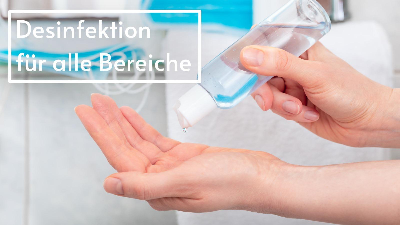 Kategoriebild Desinfektions