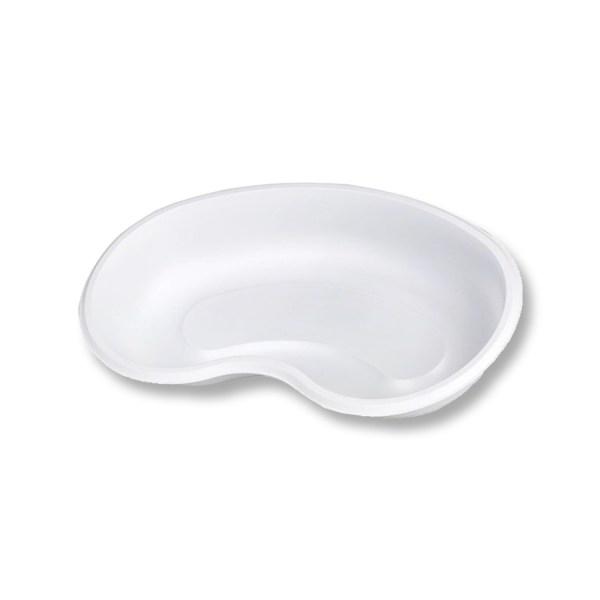 Plastik Nierenschale weiß