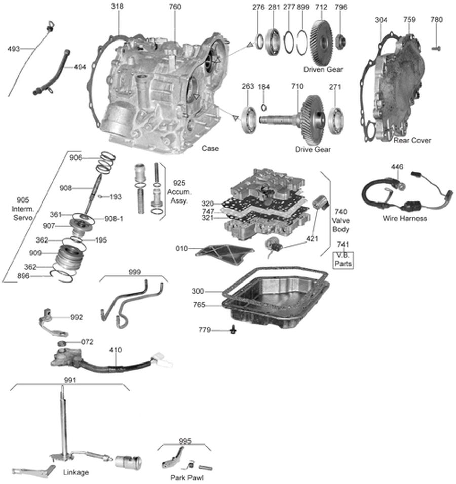 30 40le Transmission Wiring Diagram 32RH Transmission
