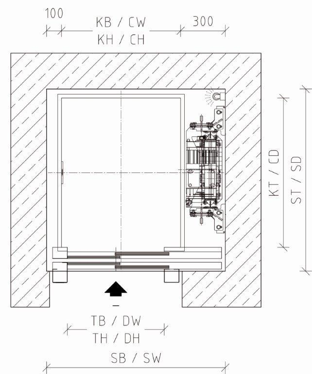 Homelift QUARTZ von LM Liftmaterial
