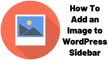 How To Add an Image to WordPress Sidebar