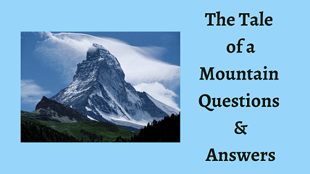The Tale of a Mountain Questions & Answers