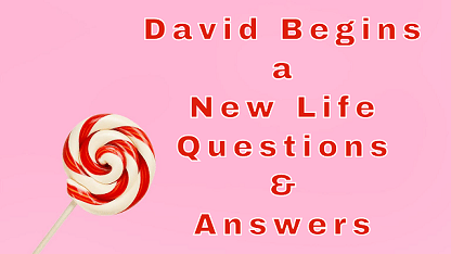 David Begins a New Life Questions & Answers