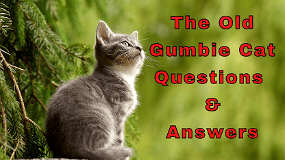 The Old Gumbie Cat Questions & Answers