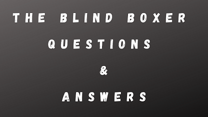 The Blind Boxer Questions & Answers