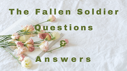 The Fallen Soldier Questions & Answers