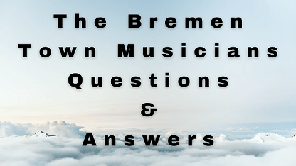 The Bremen Town Musicians Questions & Answers