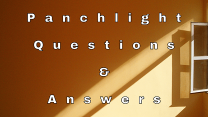 Panchlight Questions & Answers